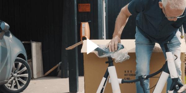 Na levering is uw NRGbike loopfiets zo goed als gebruiksklaar