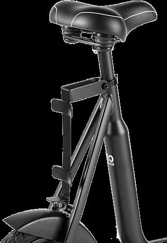 Comfortabele zadel van de NRGbike loopfiets